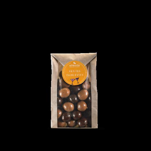 Petit sachet de Noisettes au chocolat