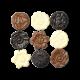 Trio de Floreals au chocolat