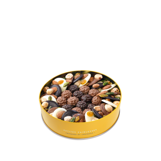Boite mini Mendiants et mini Rochers