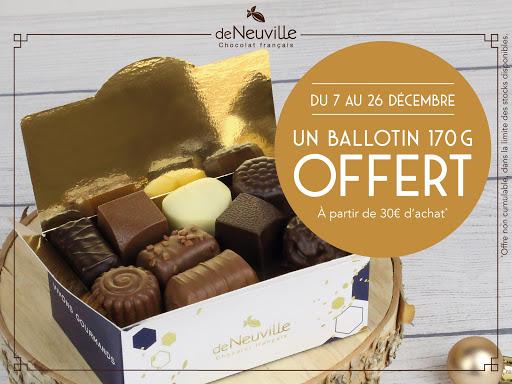 Un Ballotin 170G offert dés 30€ d'achat !