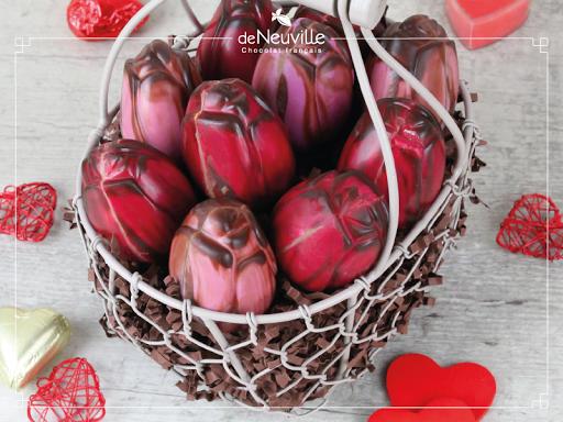 Pour la St Valentin, offrez un bouquet de fleurs pralinées