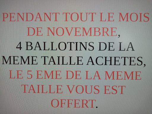 Promotion ballotins du 30/10 au 30/11